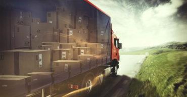 Caçamba do caminhão com seguro para transporte de cargas
