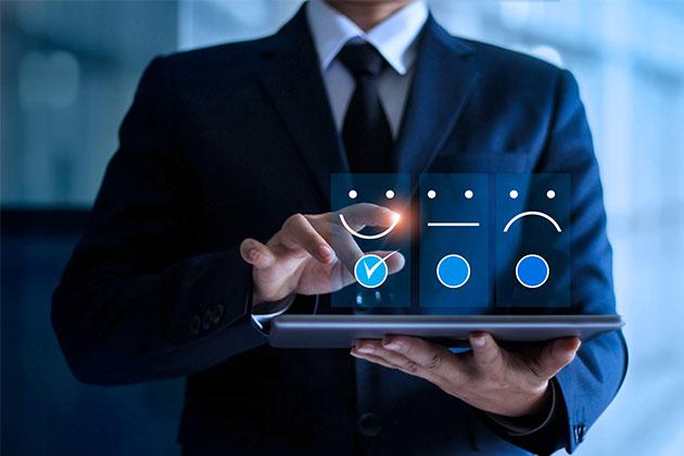 Um feedback sobre a satisfação com a entrega de um cliente. Essa é a última etapa da logística fulfillment!
